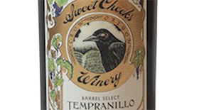 Sweet Cheeks Winery 2011 Tempranillo Label