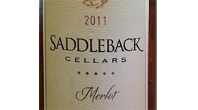 Oakville Estate Merlot Label