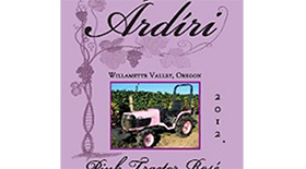 Pink Tractor Rose Label