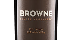 Browne Family Vineyards 2011 Petit Verdot Label