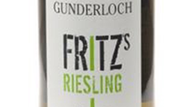 Fritz Riesling 2009 Label