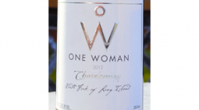 One Woman Wines and Vineyards Chardonnay Label