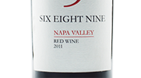 SIX EIGHT NINE 2011 Blend Label
