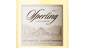 Sperling Vineyards 2011 Late Harvest Gewürztraminer  | White Wine