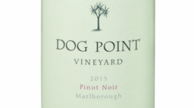 Dog Point Vineyards 2013 Pinot Noir Label