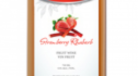 Field Stone Fruit Wines Strawberries blend | Rosé Wine