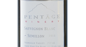 Pentâge Winery 2012 Sauvignon Blanc blend Label