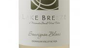 Lake Breeze Seven Poplars 2013 Sauvignon Blanc Label