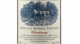 Hamilton Russell Vineyards 2017 Chardonnay Label
