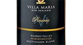 Reserve Wairau Valley Sauvignon Blanc Label
