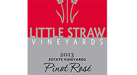 Little Straw Vineyards Estate 2013 Pinot Noir Label