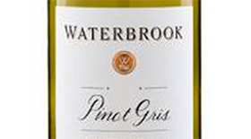 Waterbrook 2013 Pinot Gris (Grigio) Label