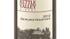 Kettle Valley Winery 2012 Gewürztraminer Label