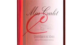 Mas Carlot Rose Label