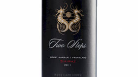 West Cape Howe Two Steps Shiraz 2015 Label