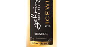 Gehringer Brothers 2013 Riesling Icewine Label