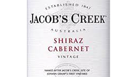 Jacob's Creek 2013 Cabernet Sauvignon blend Label