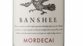Banshee Wines Mordecai 2013 Proprietary Red Blend Label