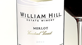 Central Coast Merlot Label