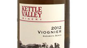 Kettle Valley Winery 2012 Viognier Label