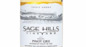 Sage Hills Organic Vineyard & Winery 2014 Pinot Gris (Grigio) | White Wine