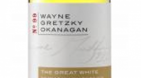 Wayne Gretzky Okanagan The Great White 2015 Label