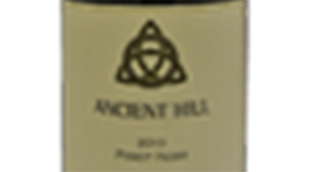 Ancient Hill Estate Winery 2010 Pinot Noir Label