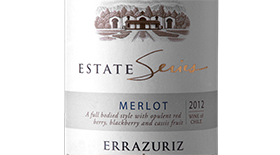 Estate Series Merlot Label
