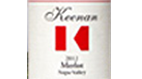 Robert Keenan Winery 2012 Merlot Label
