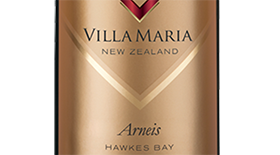 Villa Maria Cellar Selection 2013 Hawkes Bay Arneis Label