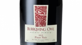Burrowing Owl Estate Winery 2013 Pinot Noir Label