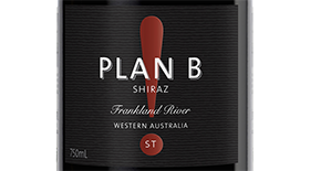 Plan B! Wines ST 2011 Shiraz Label