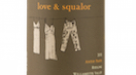 Love & Squalor Antsy Pants 2013 Riesling Label