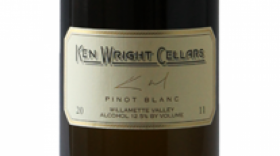 Ken Wright Cellars 2014 Pinot Blanc Label