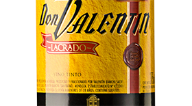 Don Valentin Lacrado 375 Label
