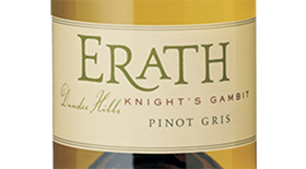Knight's Gambit Pinot Gris Label