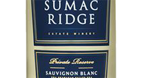 Sumac Ridge Estate Winery 2011 Sauvignon Blanc Label
