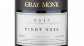 Gray Monk Estate Winery 2015 Pinot Noir | Red Wine
