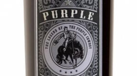 Purple Cowboy Trail Boss 2015 Cabernet Sauvignon Label