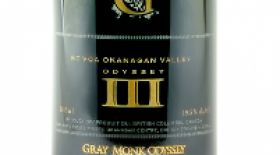 Gray Monk Estate Winery Odyssey III Port-Style Label