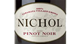 Nichol Vineyard 2010 Pinot Noir Label