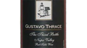 The 3rd Bottle Red Table Wine Napa Valley Label
