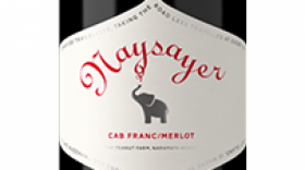 "Elephant Island Orchard Wines 2014 ""Naysayer"" Label"