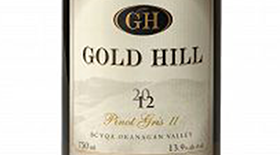 Gold Hill 2012 Pinot Gris (Grigio) Label