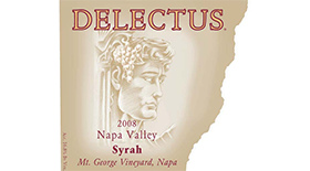 Delectus Winery 2008 Syrah (Shiraz) Label