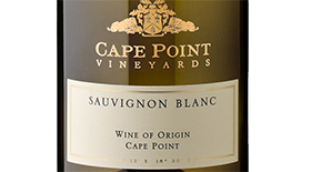 Cape Point Vineyards 2012 Sauvignon Blanc Label