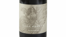 Lake Breeze Vineyards Cellar Series Mistral - Syrah Label