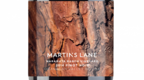 Martin's Lane Winery Naramata Bench Vineyard 2014 Pinot Noir | Red Wine