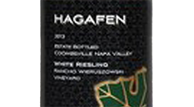 Hagafen Napa Valley White Riesling Label