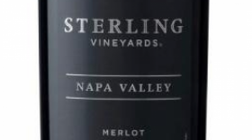 Sterling Vineyards 2012 Merlot Label